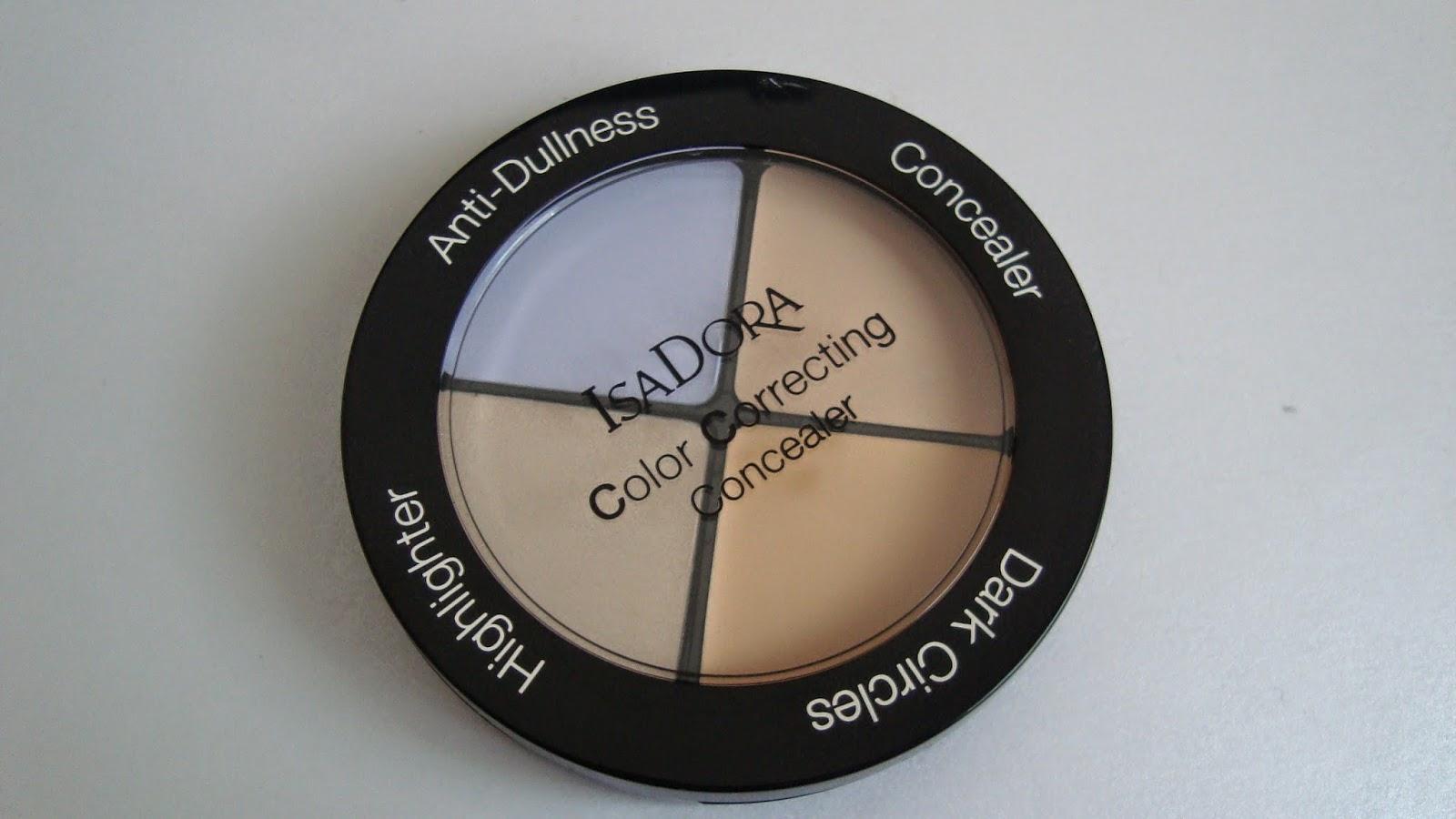 IsaDora Color Correcting Concealer – 34 Anti-Dullness – dla skóry szarej i matowej
