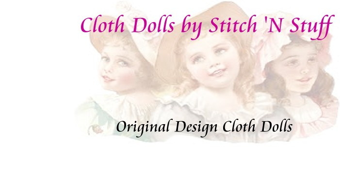 <center>Cloth Dolls by Stitch &#39;N Stuff</center>
