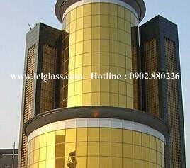 Kính phản quang vàng LCL Glass