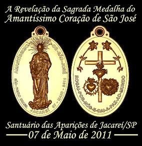Medalha do Amantssimo Corao de So Jos!