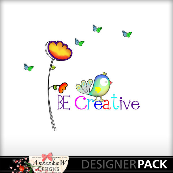 Free !  Be Creative Word Art