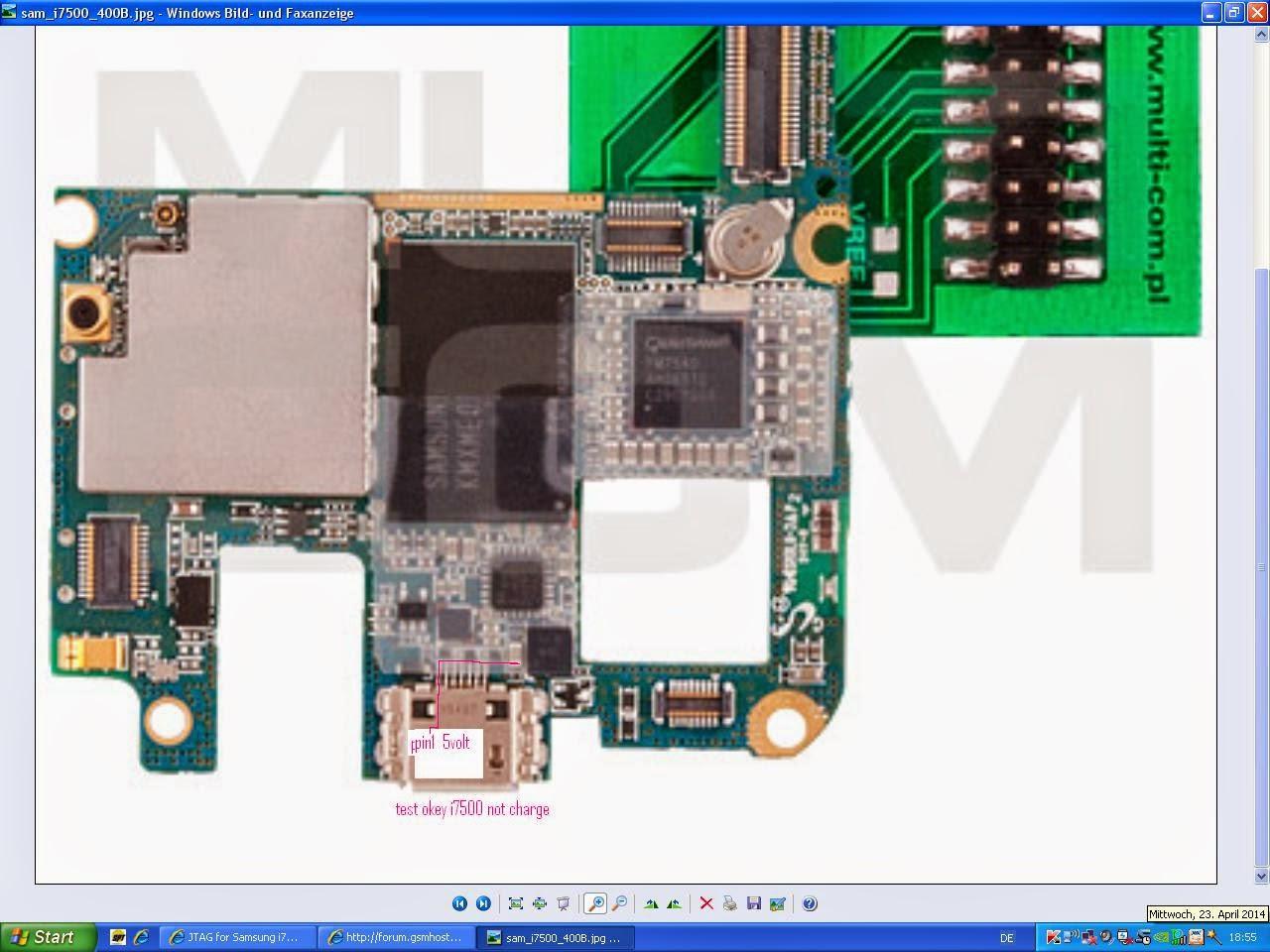 Samsung I7500i Charging solution