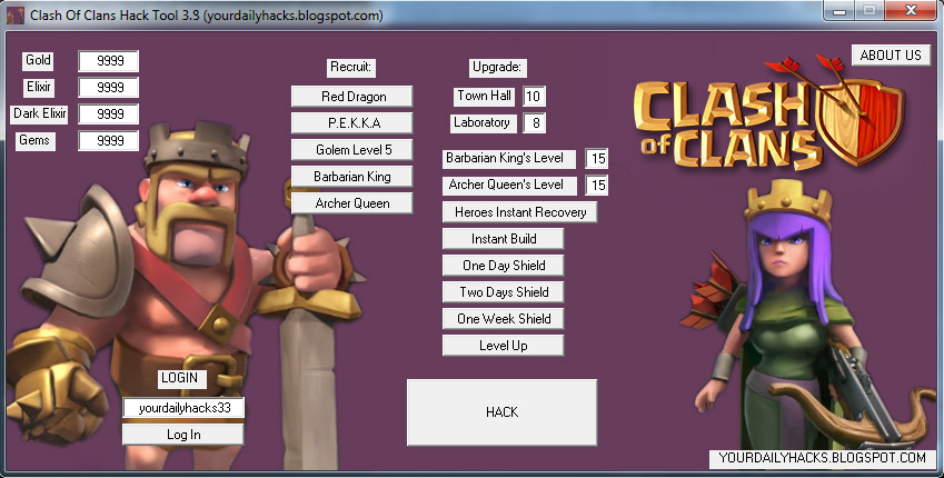 clash of clans cheats july 2013