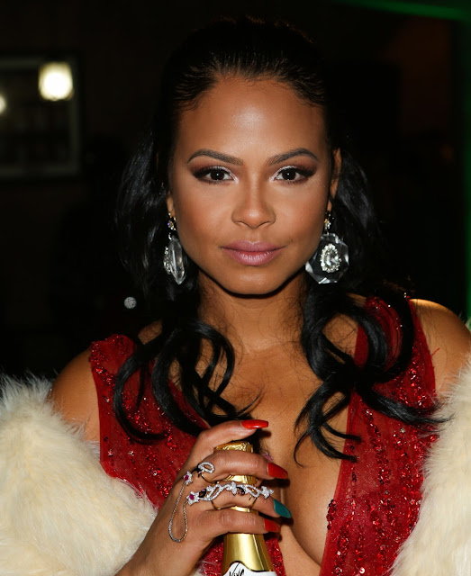 Actress, Singer, @ Christina Milian - Roadstarr Motorsports Holiday event in Beverly Hills