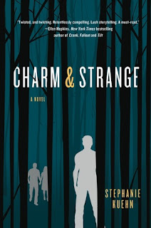 Book cover for CHARM & STRANGE by Stephanie Kuehn