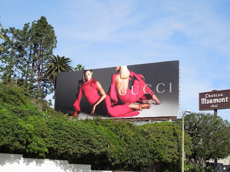 Gucci Spring 2013 billboard