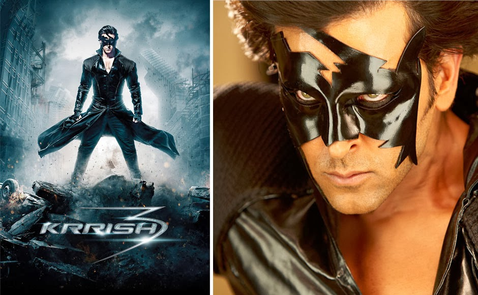 Krrish 3 movie 4 days box office collections telugu movie news 6 tollywood reviews - Krrish box office collection ...