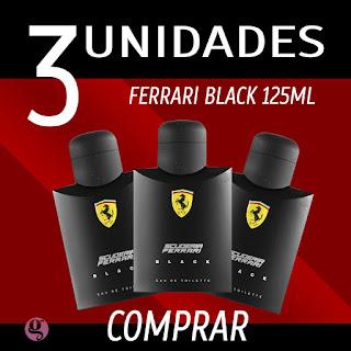 Comprar perfume FERRARI BLACK 125ML com melhor preco