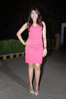Andrea Pictures in Short Dress at Aranamanai Audio Launch (29)