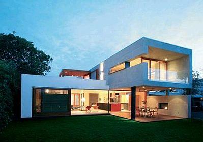 Banco de imagenes y fotos gratis fotos de casas modernas for Cuanto sale construir una piscina