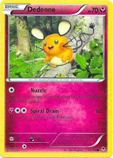 Dedenne Phantom Forces Pokemon Card