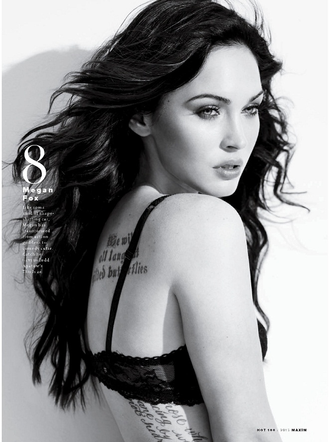 MEGAN FOX - Maxim Hot 100