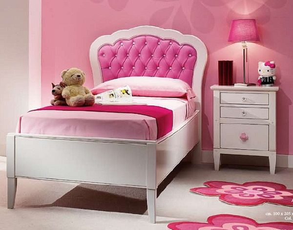 Dormitorio color rosa para ni as dormitorios con estilo for Dormitorios de ninas