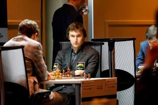 Échecs en Norvège : Sergey Karjakin (2767) - Ronde 2