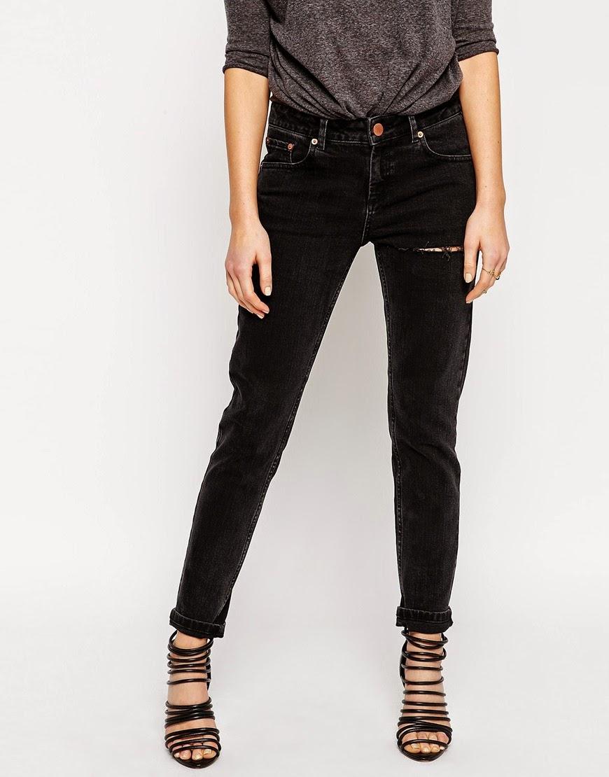 asos black slim boyfriend  jeans, black slim boyfriend jeans,