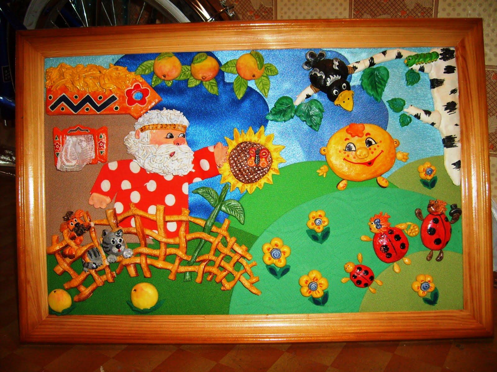 Поделки из панно для детей