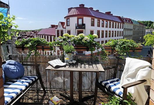 I consigli di irene arredare balconi e terrazze for Arredo terrazzi