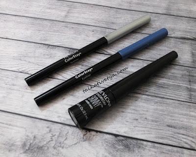 Revlon Colorstay Skinny Liquid Liner and Revlon Colorstay Pencil Liner