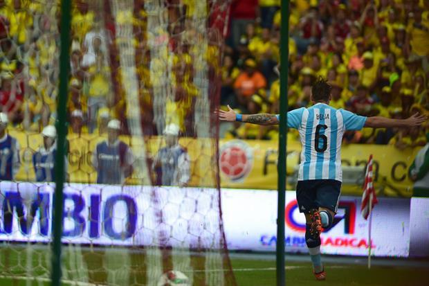 lucas biglia - seleccion argentina de futbol