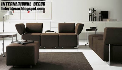 modern sofa brown furniture brown fashions Modern sofas designs, colors,sofas fashions 2013