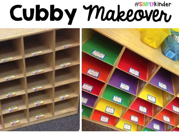 graphic regarding Free Printable Cubby Name Tags known as Cubby Makeover by means of Effortlessly Kinder! - Very easily Kinder