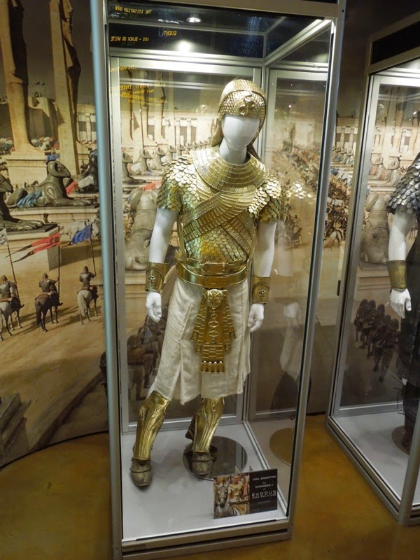 Ramesses II Exodus Gods and Kings golden armour