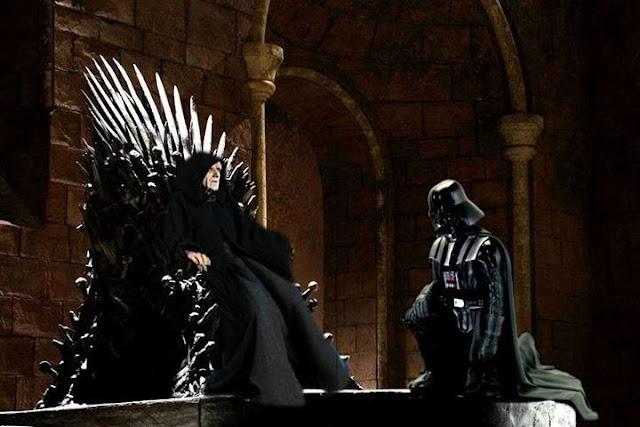 darth vader trono de hierro - Juego de Tronos en los siete reinos
