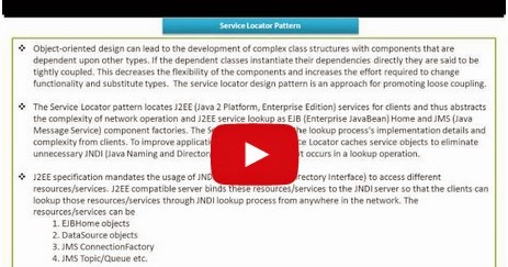 Java ee service locator design pattern keypoints for Object pool design pattern java example