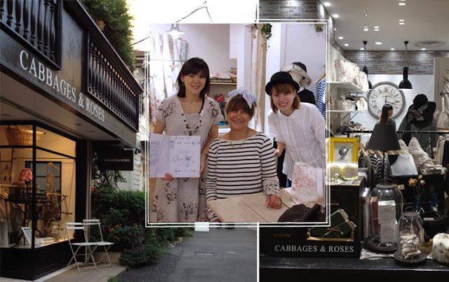 Cabbages & Roses Daikanyama Store