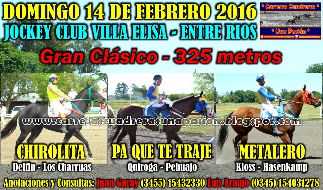 VILLA ELISA - CLASICO 325