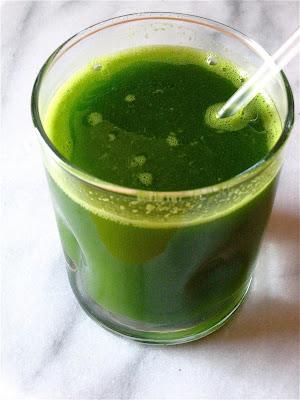 Drinking Kale Juice At Night