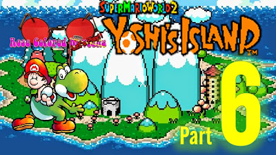 Yoshi's Island was released on the SNES by Nintendo in 1995