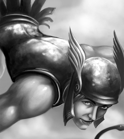 God Hermes Image, Artwork and Illustration