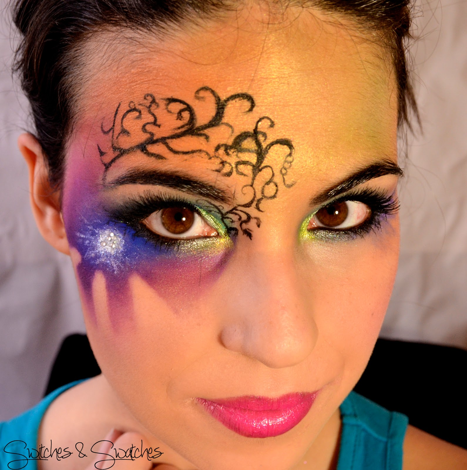 1000 images about maquillaje de fantas a makeup fantasy on pinterest maquillaje makeup and. Black Bedroom Furniture Sets. Home Design Ideas