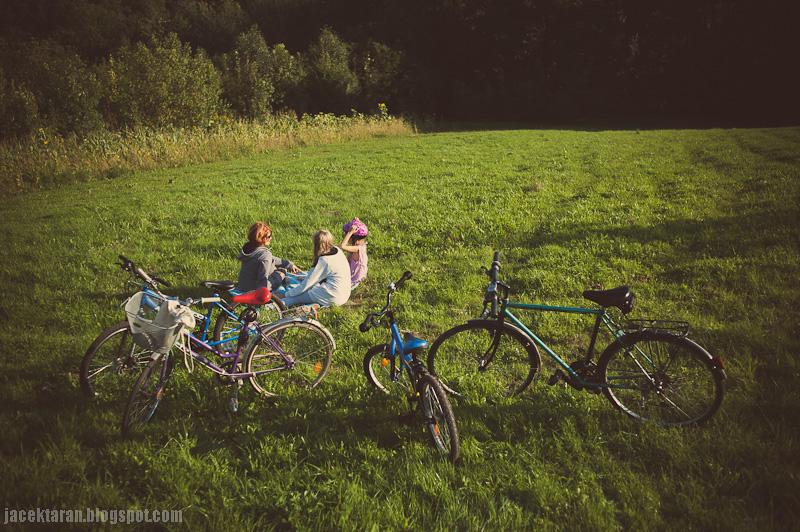 wypoczynek, krakow, rowery, wycieczka rowerowa, jacek taran