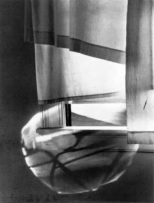 masters of photography : Minor White : photo of window and light reflection
