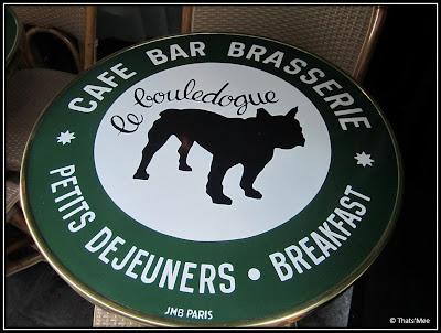 Cafe brasserie Le Bouledogue Paris 3eme bistrot 20 rue de rambuteau