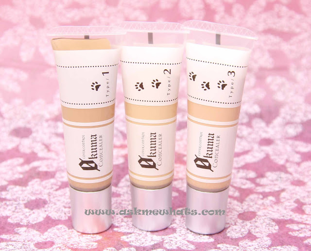 a photo of K-Palette Zero Kuma Cover Control Concealers Review