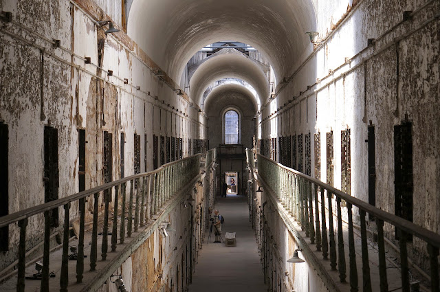 eastern state penitentiary, cell block