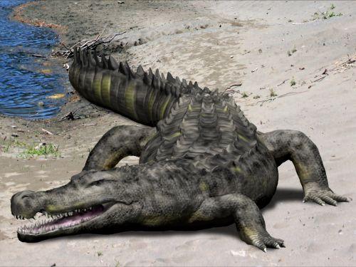Deinosuchus rugosus | Spinops: spinops.blogspot.com/2012/01/deinosuchus-rugosus.html#!