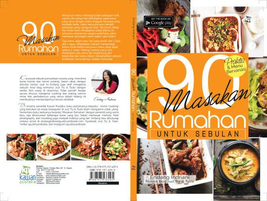 Buku ketiga JTT 90 Masakan Rumahan Untuk Sebulan