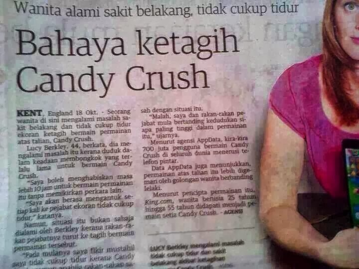 Bahaya CANDY CRUSH