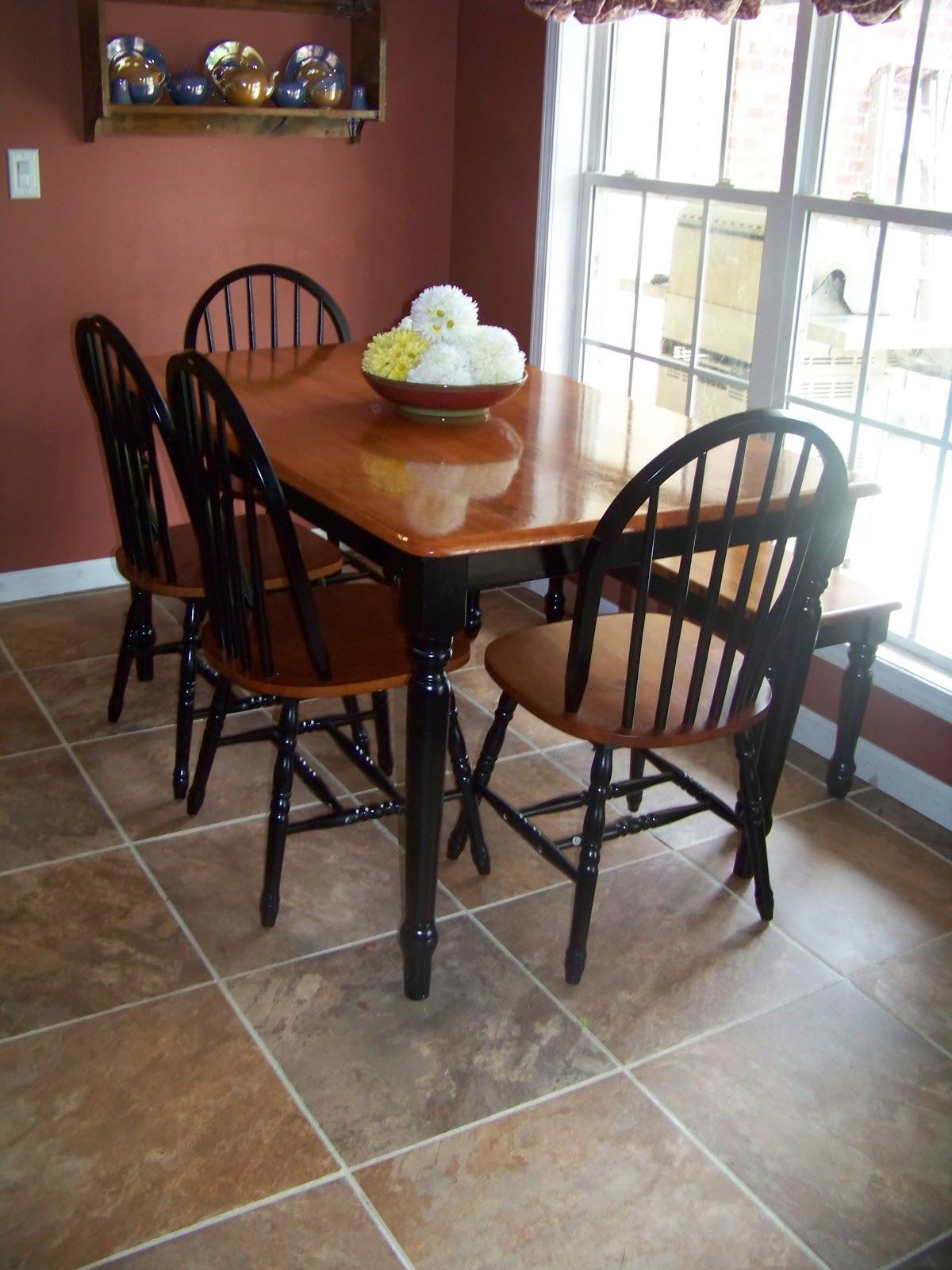The ferrell boys and me makeover monday kitchen table for Reasonably priced living room furniture