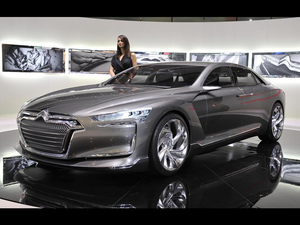Citroen Concept Car Wallpapers