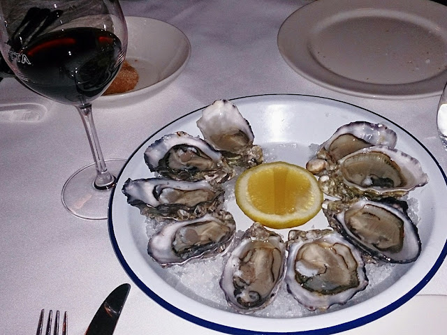 Pinotta, Italian, Fitzory, oysters