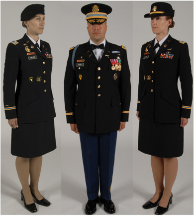 Female Army Enlisted Dress Blues