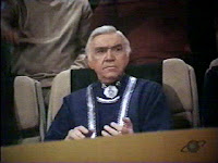 Lorne Greene as Adama