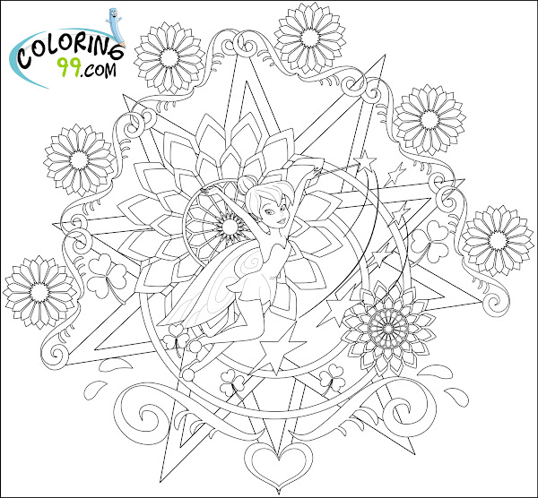 Tinkerbell And Her Fairy Friends Coloring Pages Coloring Pages Of Tinkerbell And Friends