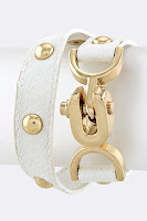 Splenderosa&#39;s White Wrap Bracelet