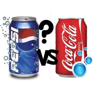 cocacola vs pepsi